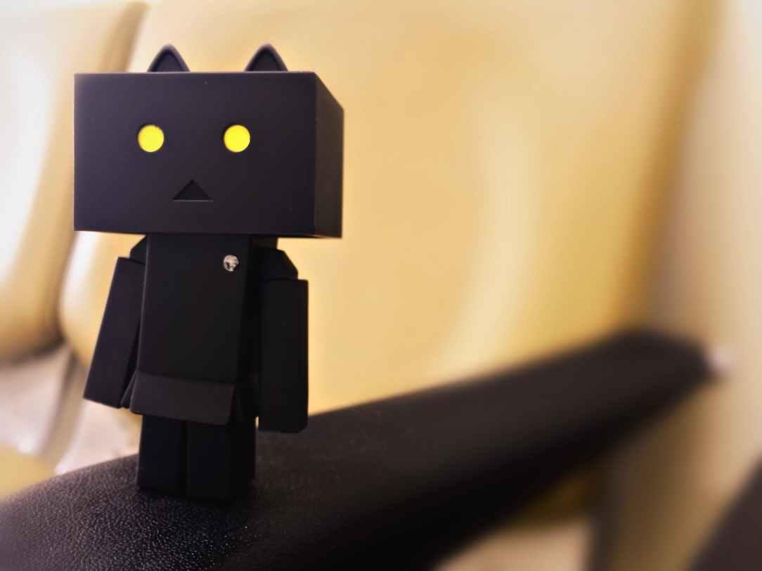 animation black blur box