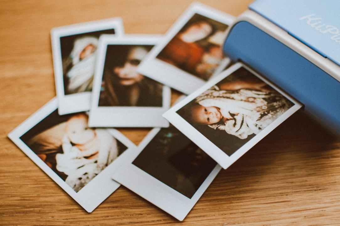 photo of polaroid photos