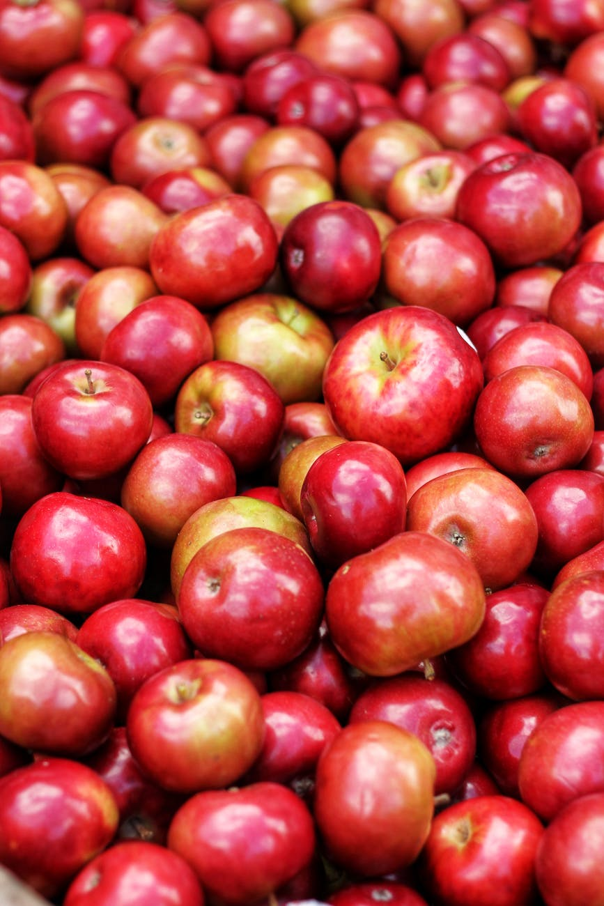 photography of pile of apples